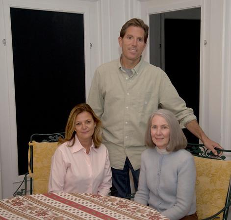 JIM VAIKNORAS/Staff photo Steve and Kim Keene and  Elizabeth McCarthy of Pelican Intervention.