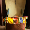 JIM VAIKNORAS/Staff photo Sayulita Yellow diaper bag at Vaalbara starting at $250