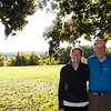 JIM VAIKNORAS/Staff photo Sheryl and Mark Lambert at their Amesbury Home.