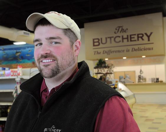 Ken Yuszkus/Staff photo: Danvers:  Matt Tilley is the general manager of The Butchery in Danvers.