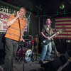 JIM VAIKNORAS/Staff photo The Krullers perform during the first TEDROCK show at the Midway Cafe in Jamaica Plain.