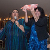 JIM VAIKNORAS/Staff photo Gloucester mayor Sefatia Romeo Theken and Newburyport mayor Donna Holaday hold Sea Perch Sea to Table event at the Custom House in Newburyport.