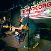 JIM VAIKNORAS/Staff photo The Figgs perform during the first TEDROCK show at the Midway Cafe in Jamaica Plain.