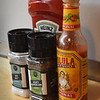 BRYAN EATON/Staff photo. Essential seasonings on every table at the Paddle Inn.