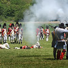 BRYAN EATON/Staff photo. Crosby's Contintenal Army engage the Red Coats.
