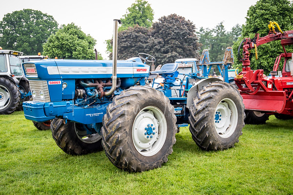 This is a home built tractor with a Northrop badge