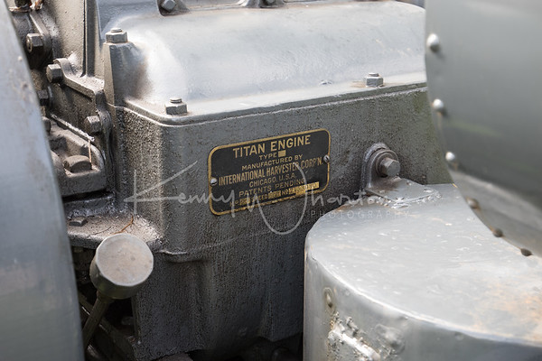 1919 International Titan 10-20 Engine plate