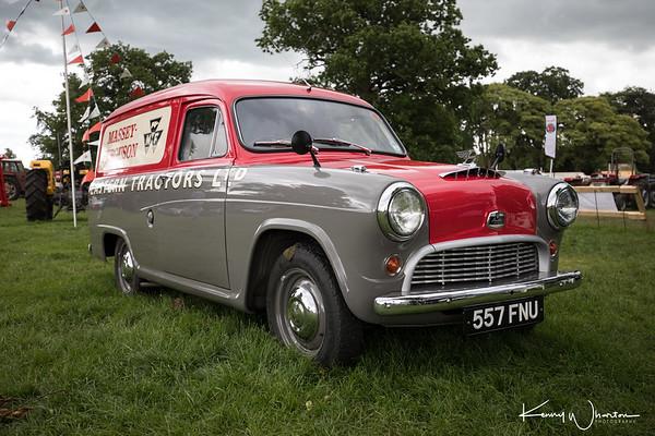 557 FNU Austin A55 van 1957