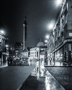 Grey Street Rain   by Lang Shot Photography