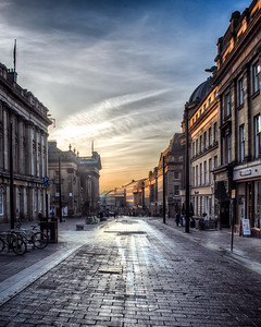 Grey Street Sunrise