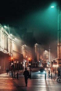 Grainger St Fog by Lang Shot Photography