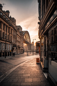 Side View Of The Tyne Bridge by Lang Shot Photography