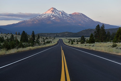 Mount Shasta volcano, California, USA