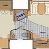 1294 Floor Plan colored