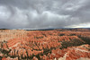 Storm clouds over Bryce Point