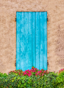 Pretty Blue Door in Provence