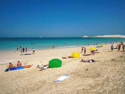 Persian Gulf/Arabian Gulf beautiful beach.