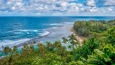 Beautiful Hawaii.