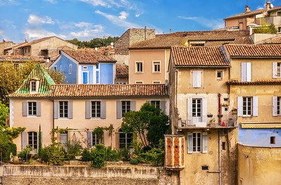 Picturesque French village.