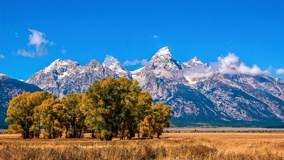 Grand Teton National Park in September.