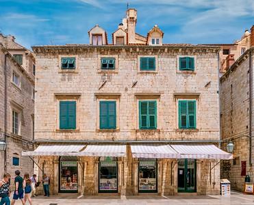 A book store in Dubrovnik.