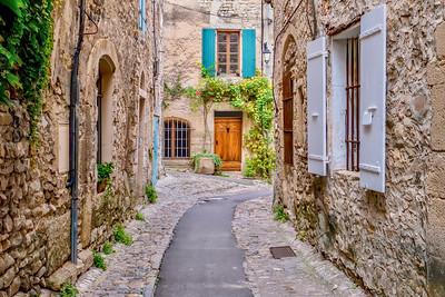 Medieval Vaison-la-Romaine, France.