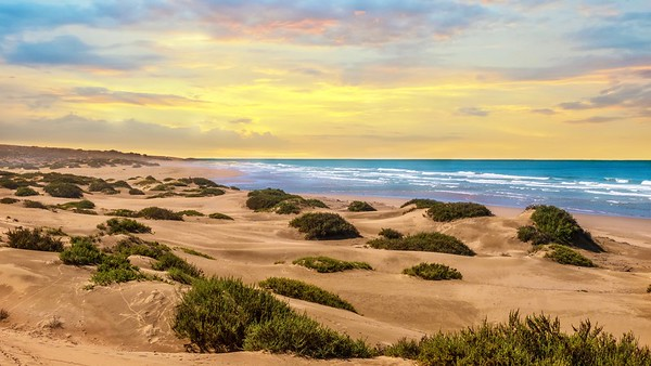 Morocco's Atlantic coast.