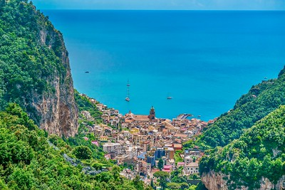The town that gives the Amalfi Coast its name.