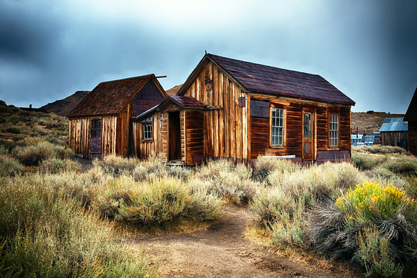 Bodie State Historical Site in California.