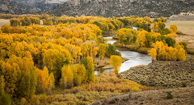 Autumn on the Platte River