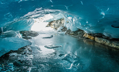 Ice Cave Inside and Out