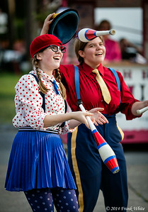 Jugglers at the 2014 Montgomery County Agricultural Fair