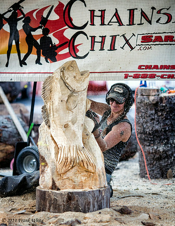 Chainsaw Chix, At the Montgomery County Agricultural Fair