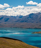 Cloud Reflections on Lake Tekapo