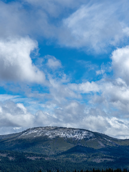 Fresh Snow and Clouds, Memorial Day Weekend