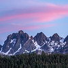 Pink Sunset over Sierra Buttes