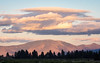 Cloudy Sunset Sky over Sierra Valley