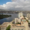 Morning Clouds over Lake Merritt and Downtown Oakland