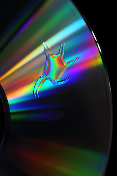 oil on CD