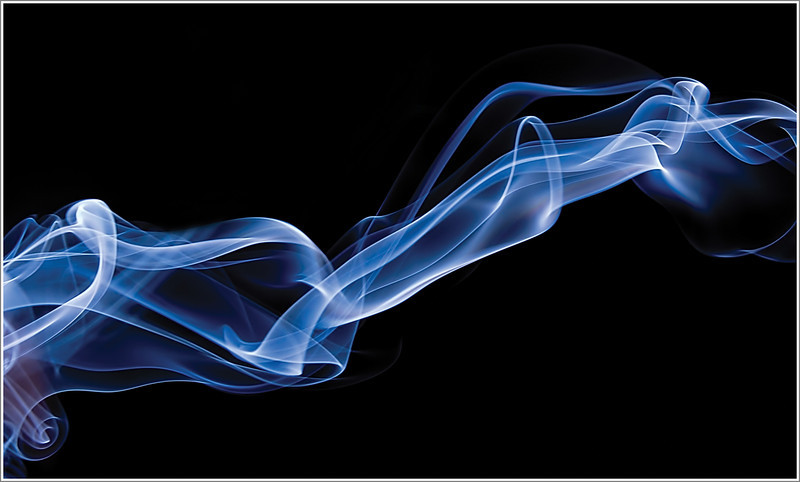 Playing with smoke (incense sticks) turned out to be great fun.