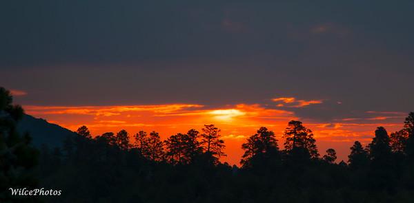 Sunrise Over East Flagstaff (Photo #2659)