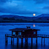 moonrise tomales bay