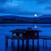 moonrise tomales bay