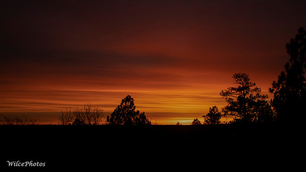 SunriseOverFlagstaff  (Photo #0332)