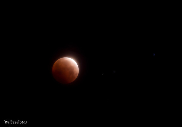 Blood  Moon During Lunar Eclipse; 26May2021; P5265825