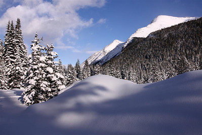 Winter in Waterton Lakes National Park