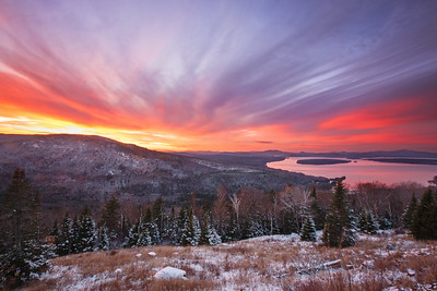 Height of the Land at Sunset, Rangeley, Maine