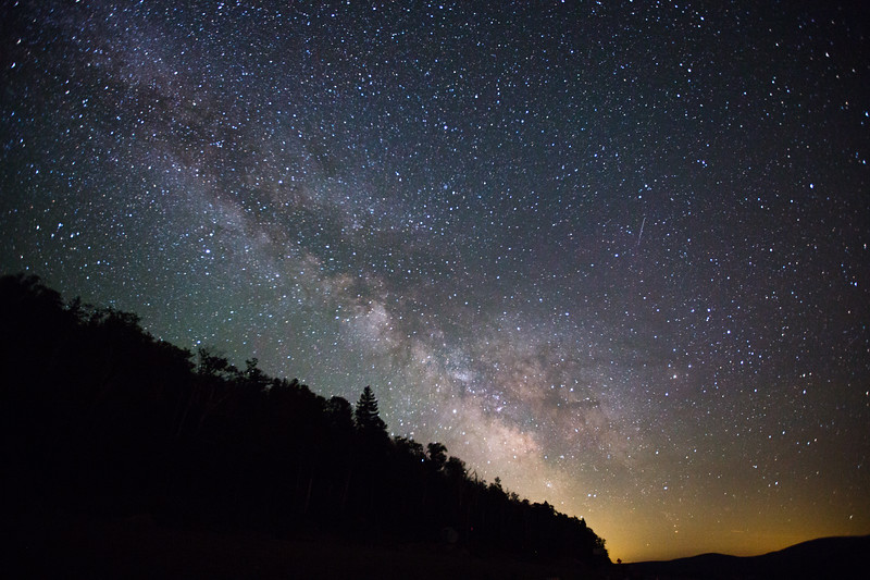The Night Sky from Rangeley, Maine
