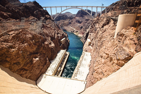 Hoover Dam, Nevada/Arizona Border