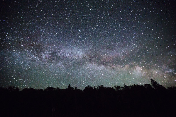 Night Sky seen from Rangeley, Maine
